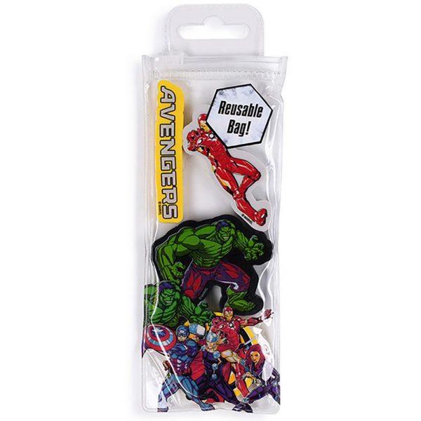 Marvel Comics 4pk Eraser Set