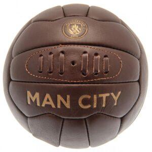 Manchester City FC Retro Heritage Football