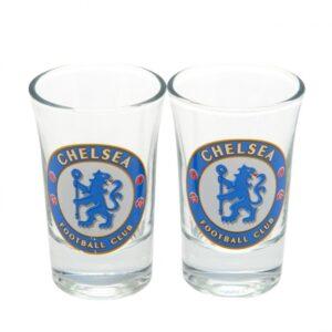 Chelsea FC 2pk Shot Glass Set