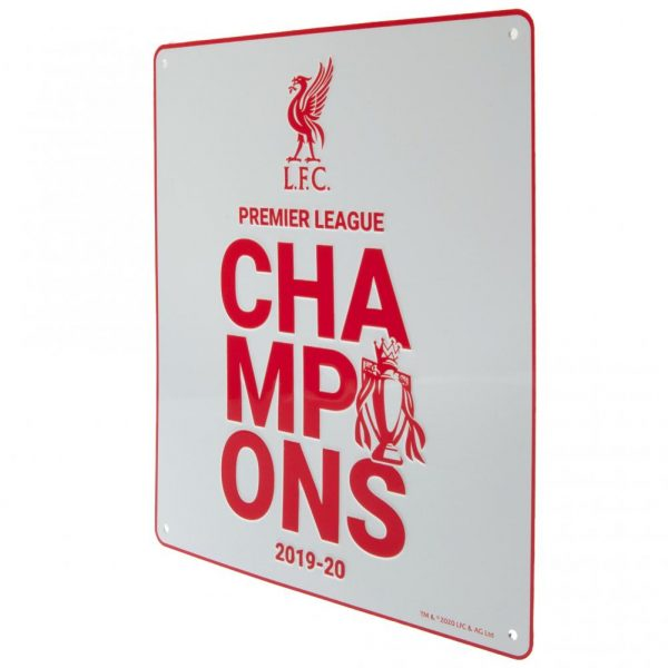 Liverpool FC Premier League Champions Sign WT