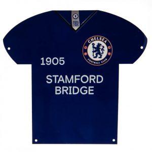 Chelsea FC Metal Shirt Sign