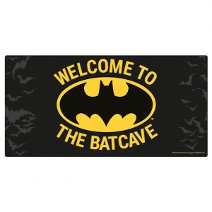 Batman Metal Wall Sign Batcave