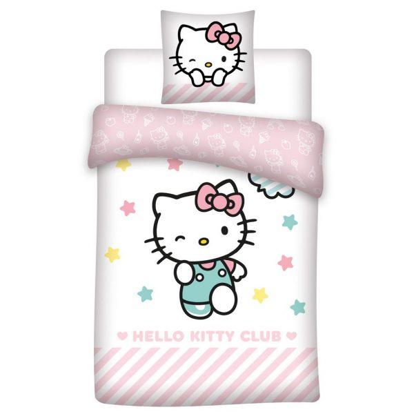 Hello Kitty Single Duvet Set
