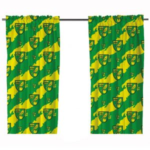 Norwich City FC Curtains