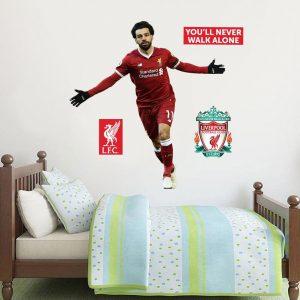 Liverpool FC Wall Art Salah