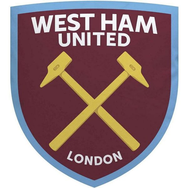 West Ham United FC Crest Cushion