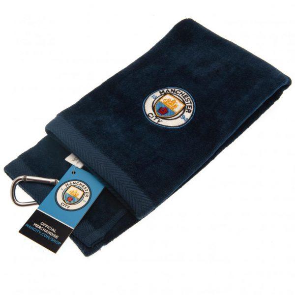 Manchester City FC Tri-Fold Towel