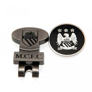 Manchester City FC Hat Clip & Marker