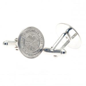 Celtic FC Sterling Silver Cufflinks
