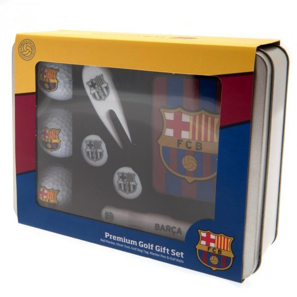 FC Barcelona Premium Golf Gift Set