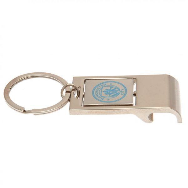 Manchester City FC Executive Bottle Opener Key Ring