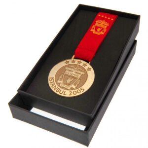 Liverpool FC Istanbul 05 Replica Medal