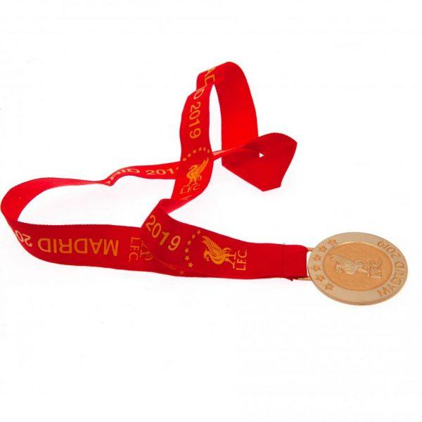 Liverpool FC Madrid 19 Replica Medal