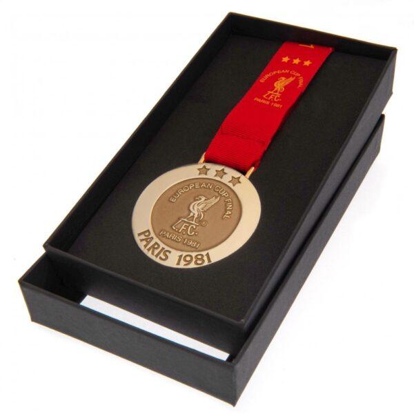 Liverpool FC Paris 81 Replica Medal
