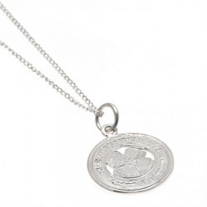 Celtic FC Sterling Silver Pendant & Chain