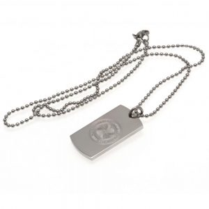 Celtic FC Engraved Dog Tag & Chain