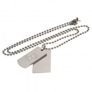 Celtic FC Double Dog Tag & Chain