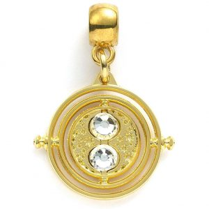 Harry Potter Gold Plated Charm Time Turner