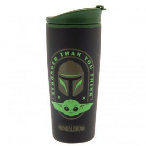 Star Wars The Mandalorian Metal Travel Mug