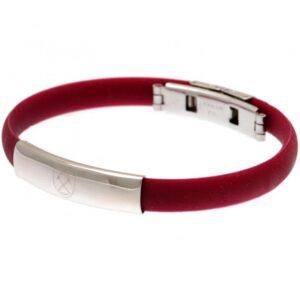 West Ham United FC Colour Silicone Bracelet