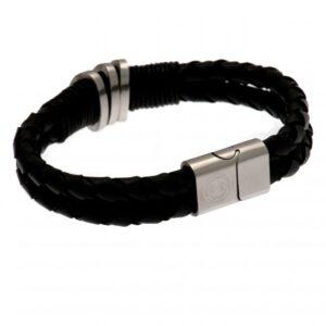 Celtic FC Leather Bracelet