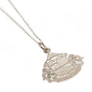 Sunderland AFC Sterling Silver Pendant & Chain