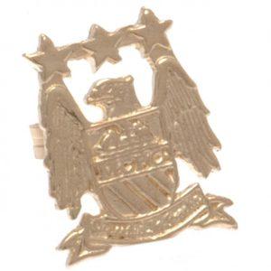 Manchester City FC 9ct Gold Earring EC