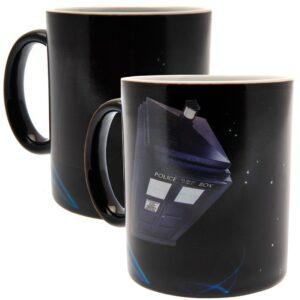 Doctor Who Heat Changing Mug Tardis