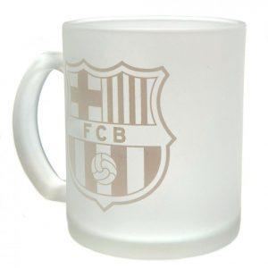 FC Barcelona Frosted Crest Mug