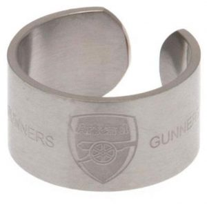 Arsenal FC Bangle Ring Large