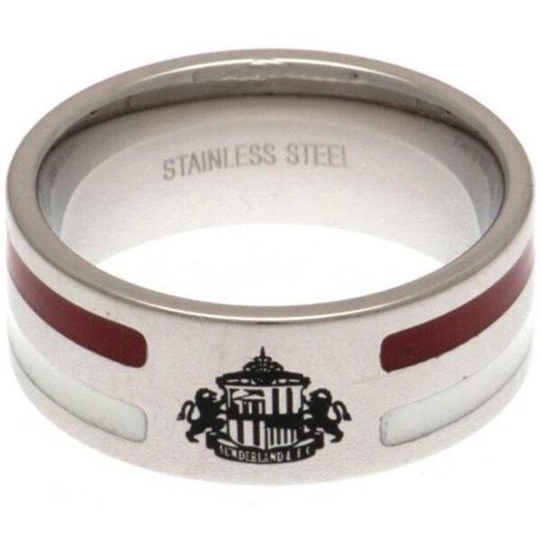 Sunderland AFC Colour Stripe Ring Medium