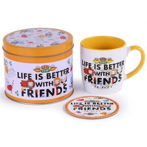 Friends Mug & Coaster Gift Tin