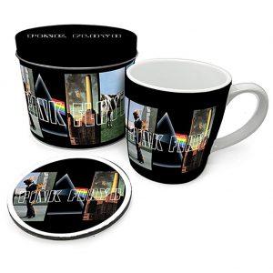 Pink Floyd Mug & Coaster Gift Tin
