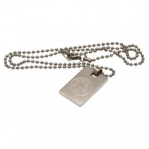 Leicester City FC Dog Tag & Chain