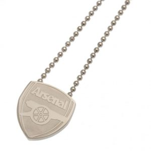 Arsenal FC Stainless Steel Pendant & Chain