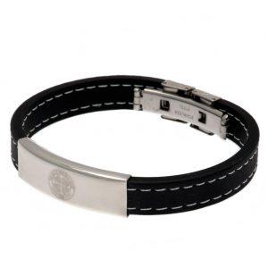 Celtic FC Stitched Silicone Bracelet