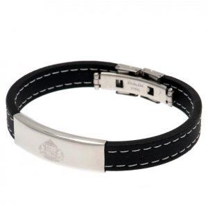 Sunderland AFC Stitched Silicone Bracelet