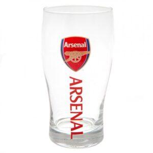 Arsenal FC Tulip Pint Glass