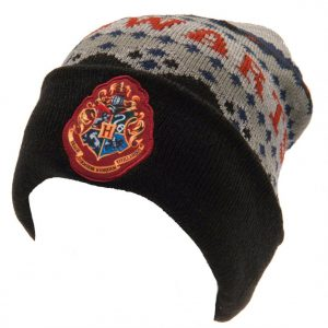 Harry Potter Cuff Beanie Hogwarts BK