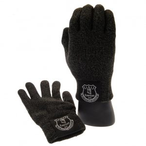Everton FC Luxury Touchscreen Gloves Youths