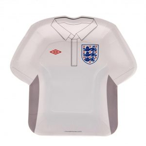 England FA Pack of 8 Party Plates