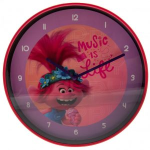 Trolls World Tour Wall Clock
