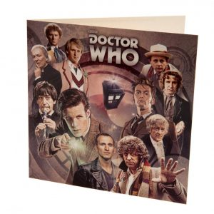 Doctor Who Blank Card