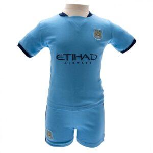 Manchester City FC Shirt & Short Set 9/12 mths NC