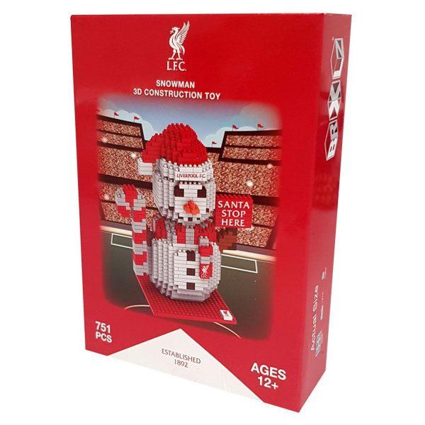 Liverpool FC BRXLZ Snowman