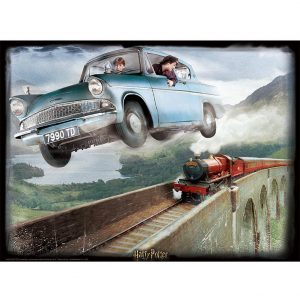 Harry Potter 3D Image Puzzle 500pc Ford Anglia