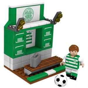 Celtic FC Brick Changing Room