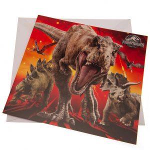 Jurassic World Blank Card