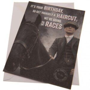 Peaky Blinders Birthday Card Races