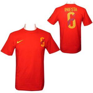 Iniesta Nike Hero T Shirt Mens L